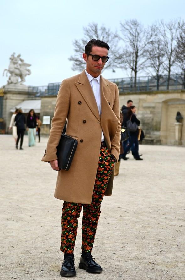 Неделя моды в Париже: Streetstyle. Изображение № 9.