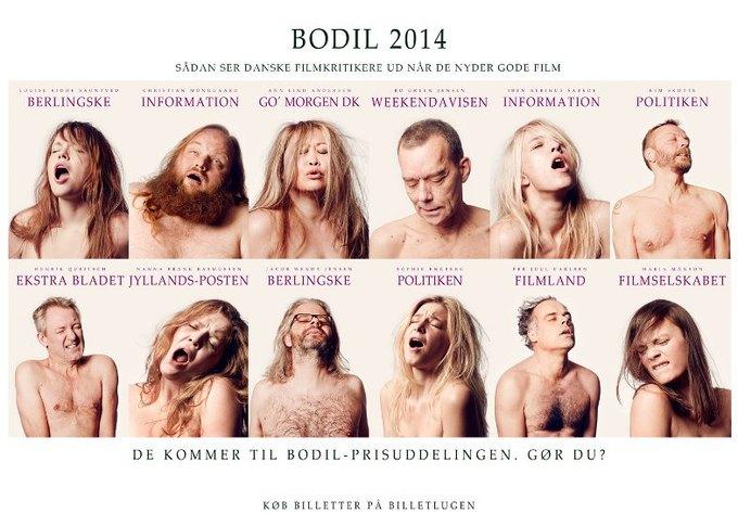 Датские кинокритики спародировали постеры «Нимфоманки». Изображение № 1.