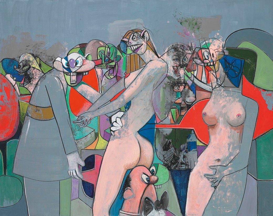Condo 2010, George Condo, 2010. Изображение № 13.