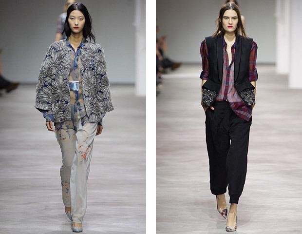 Парижская неделя моды: показы Damir Doma, Dries Van Noten, Rochas, Gareth Pugh и Mugler. Изображение № 14.
