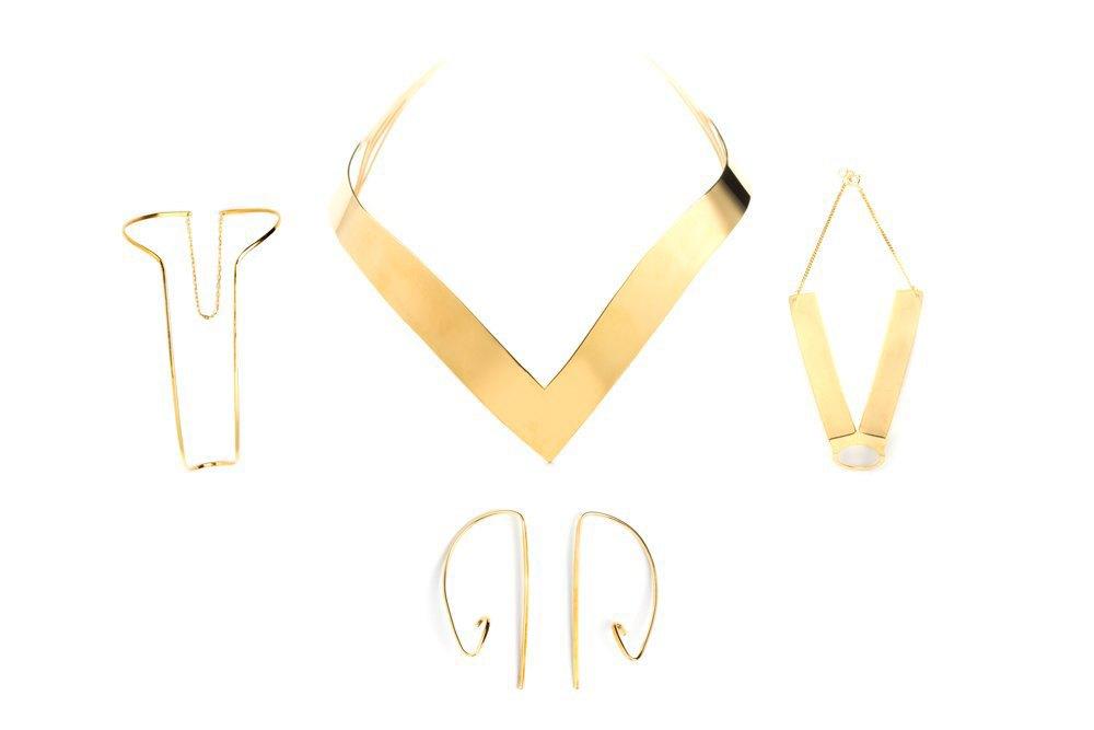 Украшения из золота и серебра Vibe Harsløf. Изображение № 7.