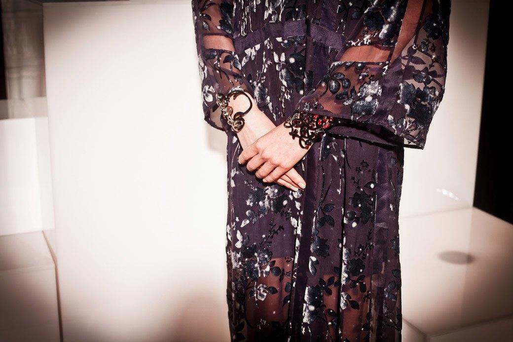Репортаж: Бархатные платья  и светящиеся кубы на LUBLU Kira Plastinina FW 2013. Изображение № 40.