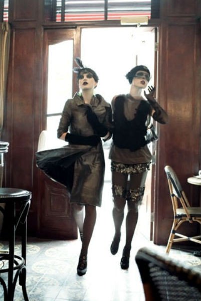 Съёмка во французском Vogue. Изображение № 55.
