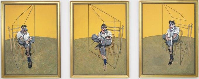 Триптих Фрэнсиса Бэкона стал самой дорогой картиной в мире. Изображение № 1.