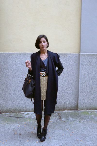 Milan Fashion Week: день четвертый – луки. Изображение № 18.