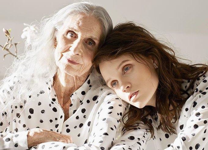 86-летняя модель стала лицом кампании Vans x  & Other Stories. Изображение № 3.