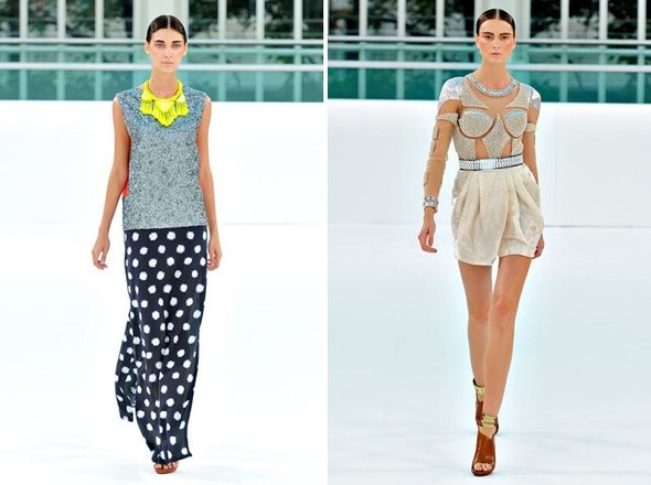 Показы на London Fashion Week SS 2012: День 1. Изображение № 16.