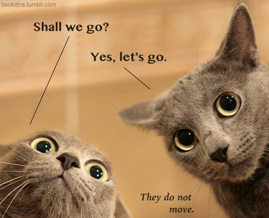 В ожидании кото: Демотиваторы из Беккета. Изображение № 6.