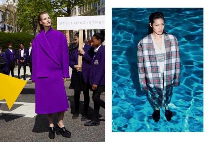Модели в бассейне в кампании Stella McCartney. Изображение № 1.