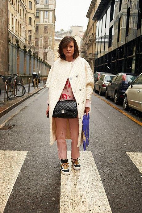 Стритстайл: Неделя моды в Милане,  часть II. Изображение № 7.