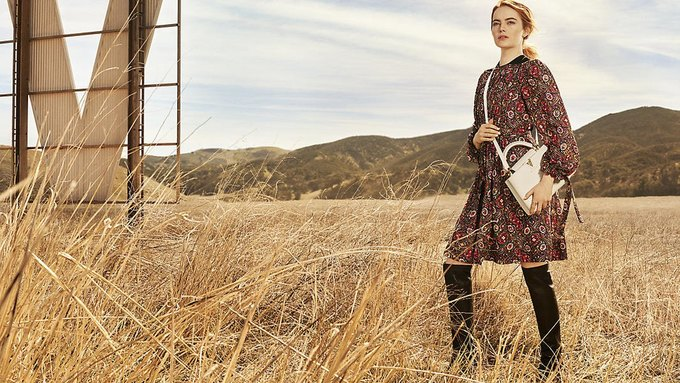 Louis Vuitton опубликовал первую кампанию с Эммой Стоун. Изображение № 5.