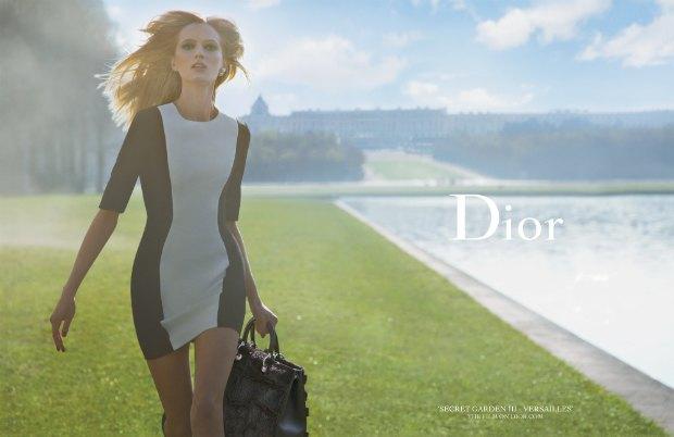 Вышло фэшн-видео Инез  и Винуда для Dior из серии «Secret Garden». Изображение № 2.