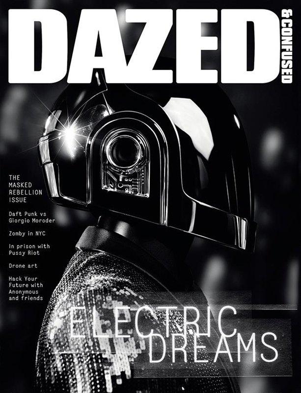 Daft Punk снялись для обложки Dazed & Confused. Изображение № 1.
