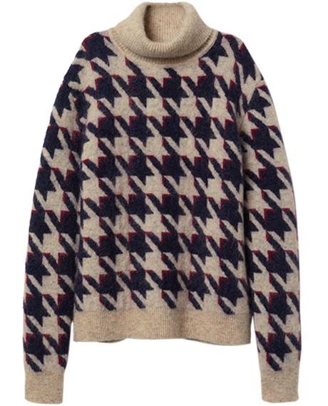 Пора утепляться: 10 свитеров с ярким принтом. Изображение № 8.