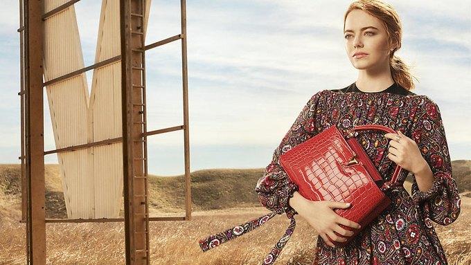 Louis Vuitton опубликовал первую кампанию с Эммой Стоун. Изображение № 3.