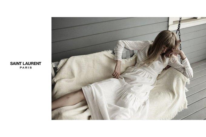 Звезда «Любви» Гаспара Ноэ и сын Килмера снялись в рекламе Saint Laurent. Изображение № 11.