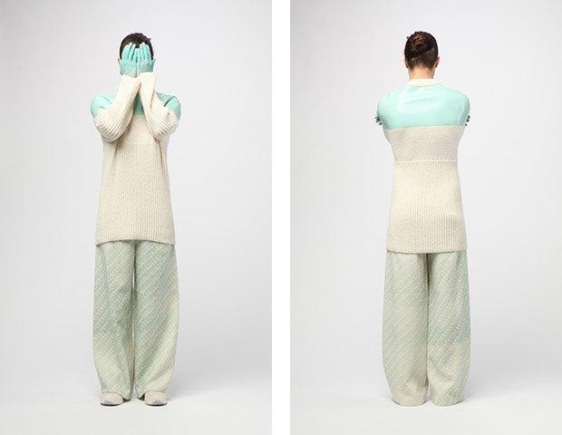 Дизайнер Камилла Кунц:  Мужская одежда, силикон  и мраморный принт. Изображение № 5.