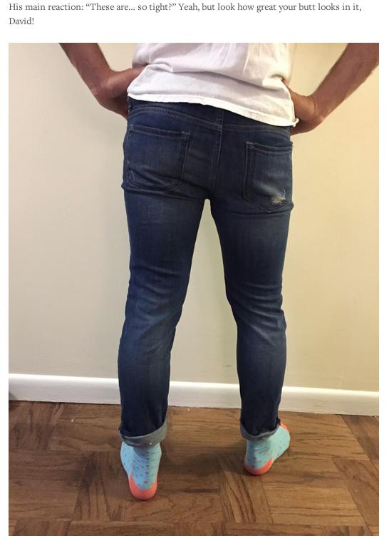 8 парней примерили boyfriend jeans. Изображение № 3.
