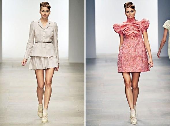 Показы на London Fashion Week SS 2012: День 1. Изображение № 2.