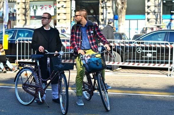 Неделя моды в Милане: Streetstyle. Изображение № 10.