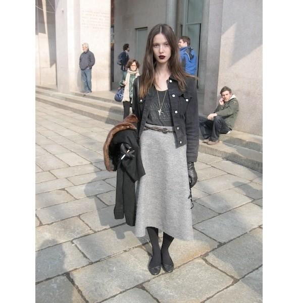 Milan Fashion Week: день первый — луки. Изображение № 7.
