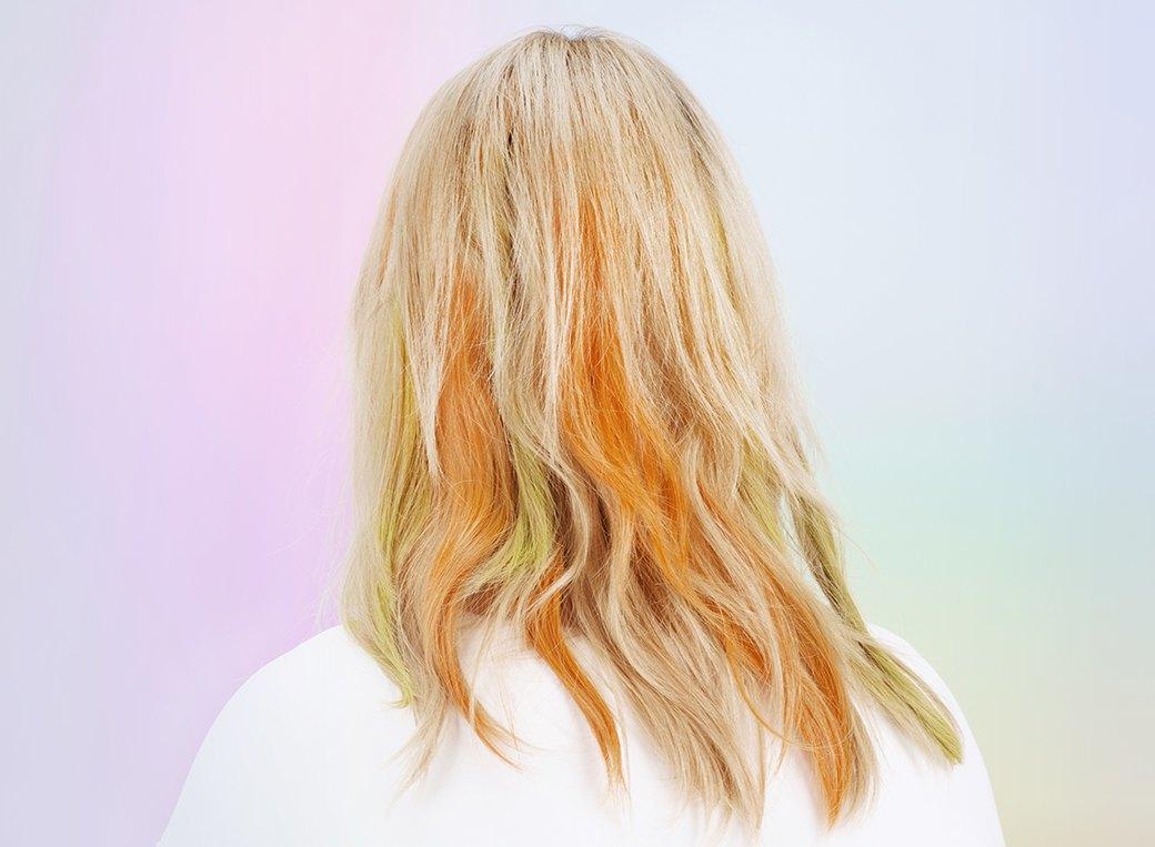 Инструкция: Цветные волосы быстро и ненадолго. Изображение № 2.