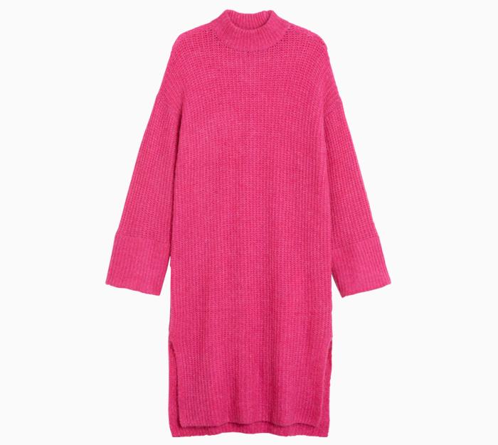 Тёплые платья на осень: 11 вариантов от простых до самых роскошных. Изображение № 1.