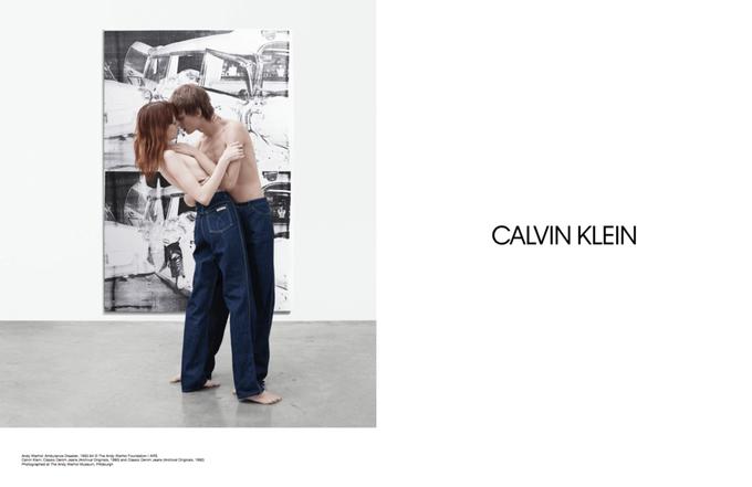 Новая кампания Calvin Klein посвящена современному искусству. Изображение № 5.