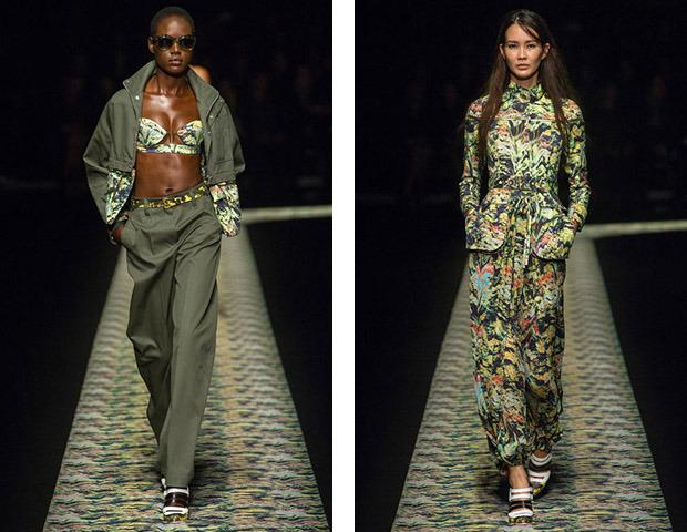 Парижская неделя моды: Показы Kenzo, Celine, Hermes, Givenchy, John Galliano. Изображение № 1.