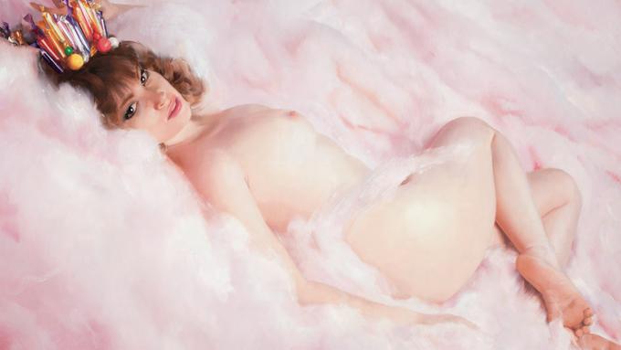 Уилл Коттон — «Королева сахарной ваты». Изображение № 1.