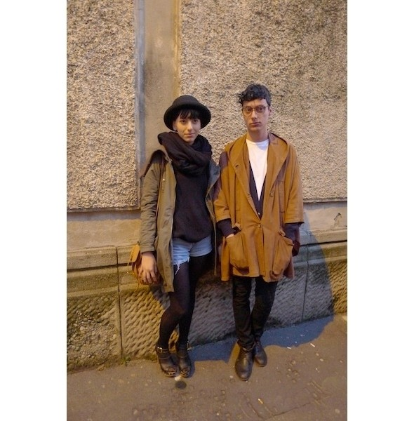 Milan Fashion Week: день второй — луки. Изображение № 14.