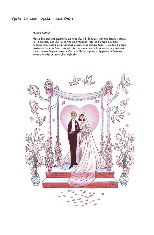 «Дневник Анны Франк»: Отрывок из графической адаптации. Изображение № 3.