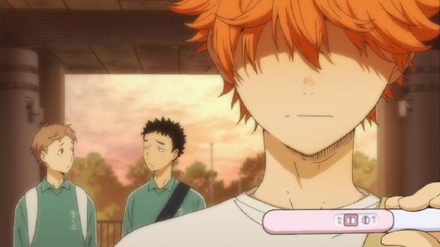 Мем дня: персонажи аниме узнают о беременности. Изображение № 9.