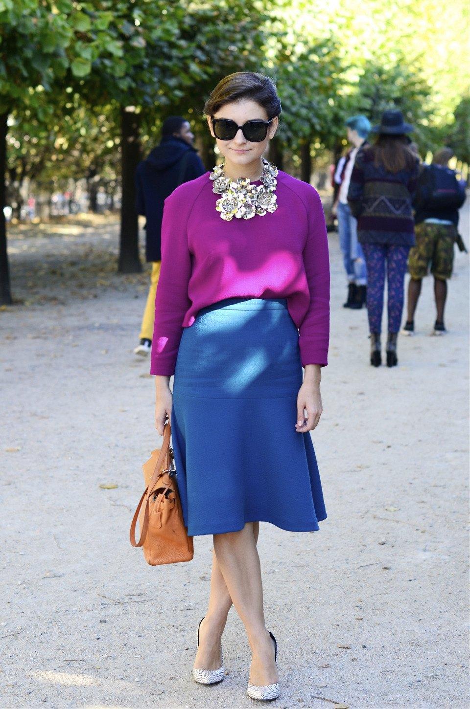 Парень в камуфляже, девушка-Микки-Маус и другие гости Paris Fashion Week. Изображение № 23.