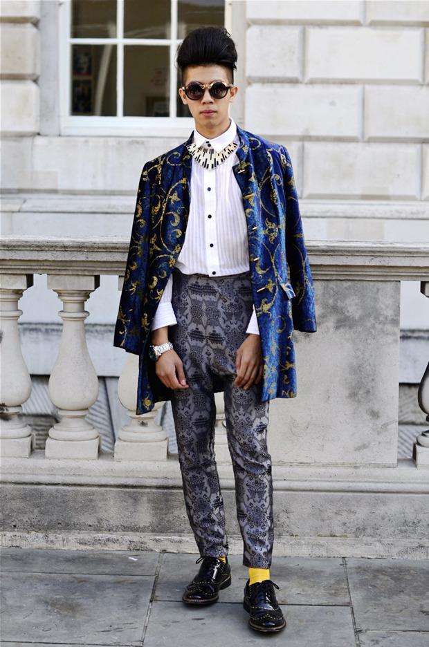 Streetstyle: Неделя моды в Лондоне, часть 2. Изображение № 1.
