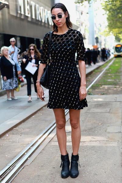Milan Fashion Week: Уличный стиль, день 5. Изображение № 11.