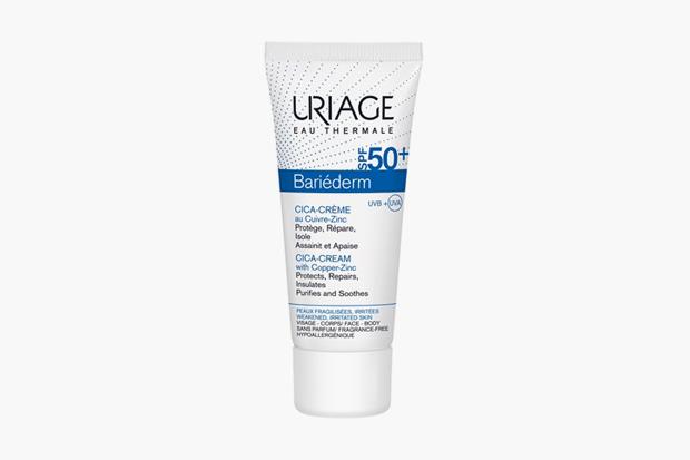 Cica-крем с медью и цинком Uriage Bariéderm Cica-Cream SPF50+. Изображение № 2.