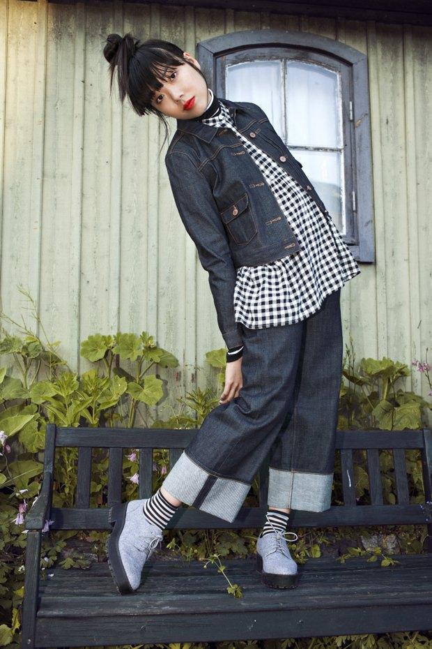 Блогер Сьюзи Баббл стала лицом линейки денима Monki. Изображение № 9.