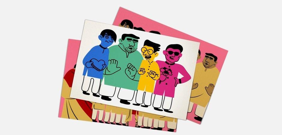 «Arranged!»: Настольная игра о договорных браках. Изображение № 1.