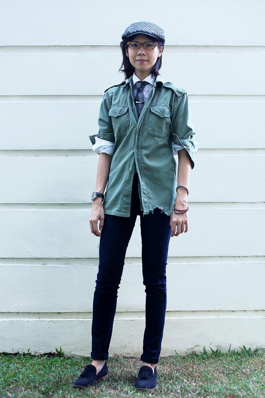 Гардероб: Джени Кай,  директор моды Esquire Singapore . Изображение № 11.