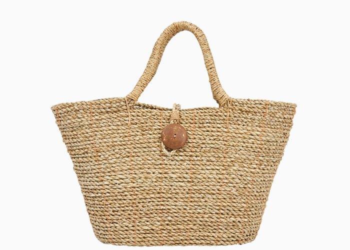 Плетёные сумки для города: 10 моделей от простых до роскошных. Изображение № 1.