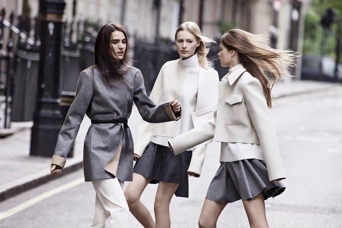 Модели на улицах Лондона в новой кампании Zara. Изображение № 2.