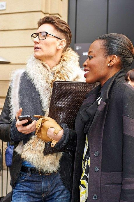 Стритстайл:  Неделя моды в Милане,  часть I. Изображение № 24.