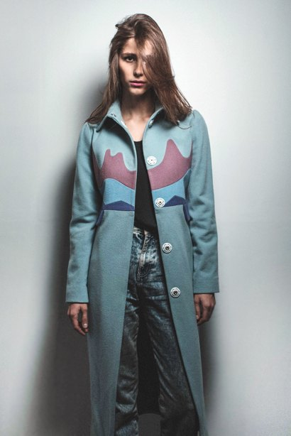outlaw moscow: Яркие пальто, вдохновленные картинами Рериха. Изображение № 4.
