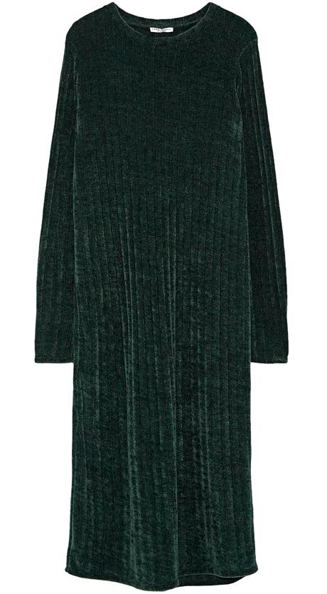 Новый бархат: Свитеры, платья и аксессуары из шенили . Изображение № 8.