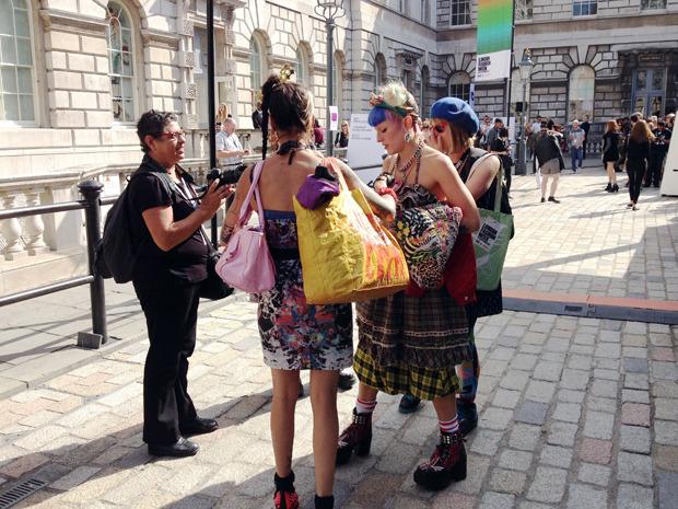 Дневник модели: Ирина Николаева о своем первом опыте на Лондонской неделе моды. Изображение № 4.
