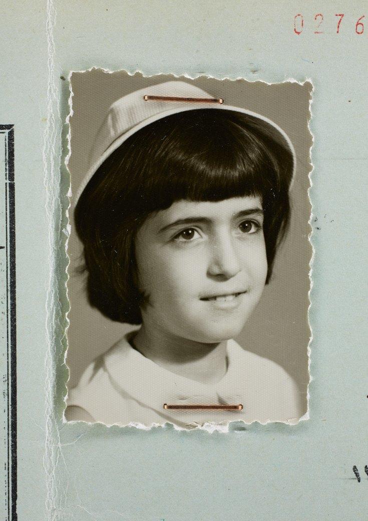 11 лет, сертификат об окончании пятого класса, Тегеран, 1968. Изображение № 10.