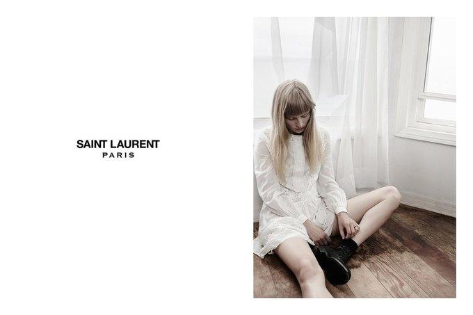 Звезда «Любви» Гаспара Ноэ и сын Килмера снялись в рекламе Saint Laurent. Изображение № 18.