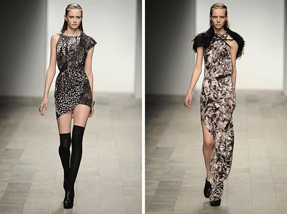 Изображение 4. Показы на London Fashion Week AW 2011: день 1.. Изображение № 2.