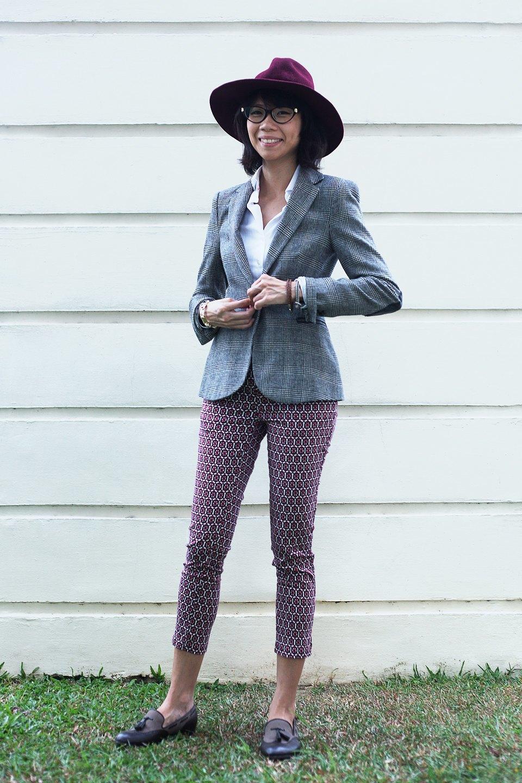 Гардероб: Джени Кай,  директор моды Esquire Singapore . Изображение № 2.